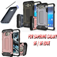 SHOCKPROOF HEAVY DUTY TOUGH ARMOUR CASE COVER FOR SAMSUNG GALAXY S6 / S6 EDGE