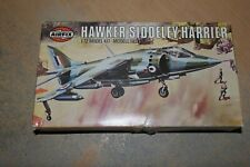 AIRFIX 1:72 HAWKER SIDDELEY HARRIER  BOX AND INSTRUCTION ONLY   SPARES