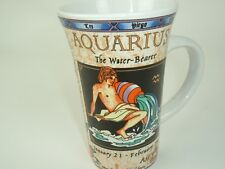 Aquarius Mug The Water Bearer Horoscope Tall Coffee Cup