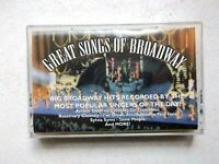 Great Songs of Broadway Seventy six trombones, Some People and more.