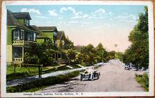 1920 Sydney, Nova Scotia/NS Postcard: George Street/Car - Canada