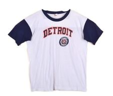 Vintage 80s Trench Mlb Detroit Tigers Thin Single Stitch Graphic T Shirt M