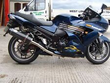 Kawasaki ZZR1400 06-07 Carbon Oval With Carbon Outlet Road-legal MTC Exhausts