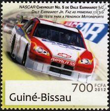 NASCAR Dale Earnhardt Jr #5 CHEVY IMPALA SS Racing Car Stamp/2012 Guinea-Bissau
