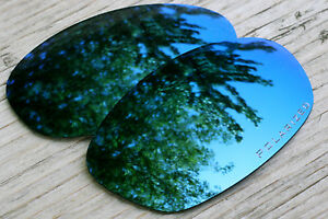 Polarized Navy Blue Sunglass Lenses for Oakley Twenty XX (2012) Dark Grey Tint