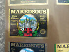 VINTAGE BELGIUM BEER LABEL. MAREDSOUS BREWERY - ABBEY ALE 10o 33 CL #2