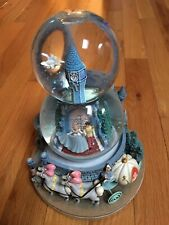 Disney Cinderella and Prince Snow Globe with Music A Dream Is a Wish Pumpkin