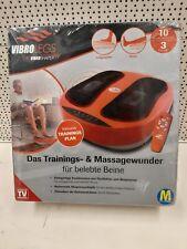 VibroLegs Vibrationsplatte Beinmassage Fußmassage mit Fernb. Neu ✅ Händler ✅