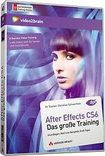 video2brain After Effects CS6 - Das große Video Training, 8 Std. Auf DVD, NEU