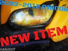 2006-2014 Honda TRX 680 TRX680 Rincon YELLOW EYE'S Headlight Cover's