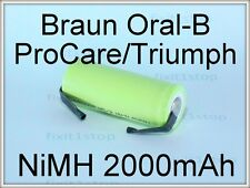 NEW Battery Braun Oral-B ProfessionalCare 4000 Series 42mm Toothbrush Repair