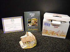 Lilliput Lane Chine Cot English Collection: South East Nib & Deeds 1989 Signed