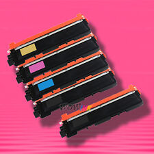 5 TONER for BROTHER TN210 TN-210 TN210BK TN210C M TN210Y MFC-9320CN MFC-9325CW