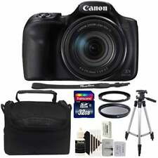Canon Powershot SX540 HS 20.3MP Digital Camera 50x Optical Zoom with 32GB Kit