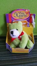 "Only Hearts Pets ""Greenie The Bear"" Only Hearts Club Rare New In Box"