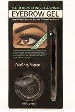 24 Hr Long Lasting Waterproof Eyebrow Gel - Darkest Brown
