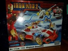 NEW Mega Bloks Iron Man 2 Mark V Whiplash Showdown 172 Pcs Motorized Action