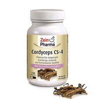 Cordyceps CS-4 120 Kapseln 500mg Sinensis Extrakt von ZeinPharma® - Raupenpilz -
