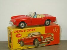 Triumph Spitfire - Dinky Toys 114 England in Box *45029