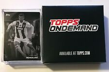 2019 Topps On-Demand #9 UEFA Champions League Black and White Complete Base Set