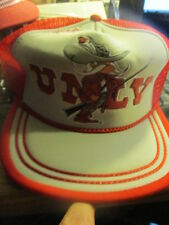 NWOT Original 70's/80's UNLV REBELS Logo Mesh Trucker Snapback Hat OSFA
