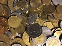 200 Gramm Restmünzen/Umlaufmünzen Argentinien