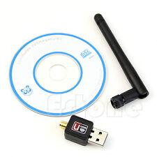 New USB 2.0 Mini 150Mbps 802.11N/G/B WiFi Wireless Network LAN Card Adapter