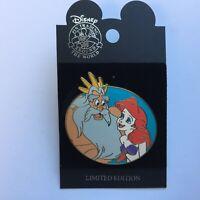 WDW - Fathers & Daughters Series King Triton & Ariel LE 1000 Disney Pin 39060