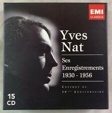Classical CD Box Set / Yves Nat Ses Enregistrements 1930-1956 EMI Classics