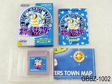 Complete Pokemon Blue w/map Japan GB Game Boy Japanese Import US Seller B