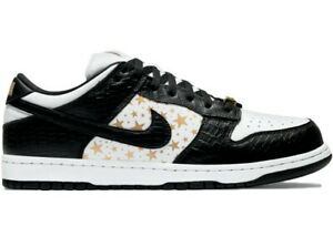 Nike x Supreme SB Dunk Low Stars Black 2021 Size 9.5 *ORDER CONFIRMED*