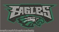 Eagles Rhinestone Iron on Transfer          MOVI
