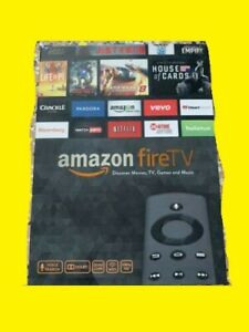 Amazon Fire TV + Fire Controller Bundle! New/In Box
