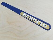 HRC* BENOTTO GOLD  chain stay guard Frame Protector Sticker bicycle decal