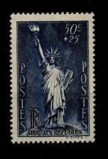FRANCIA - 1937 - Pro rifugiati politici. Statua della Libertà