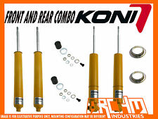 HOLDEN COMMODORE VE SEDAN KONI SPORT ADJUSTABLE F & R SHOCK ABSORBERS