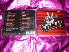 THE VOICE : THE FINAL 24 (VARIOUS ARTISTS) : (CD, 24 TRACKS, 2012)