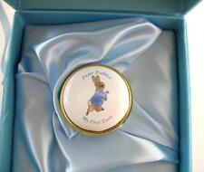 Border Fine Arts Enamel Box - Peter Rabbit - My First Tooth - Boxed