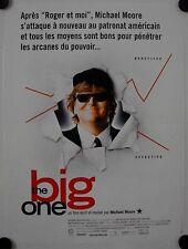 Affiche Cinéma THE BIG ONE 1998 Michael MOORE- 40x60