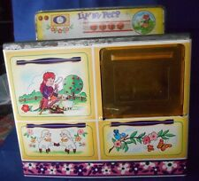 Vintage WOLVERINE LITTLE BO PEEP TIN METAL TOY STOVE No.502