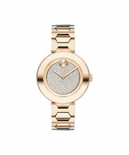 Movado Bold Rose Gold-Tone Stainless Steel Ladies Watch (3600493)