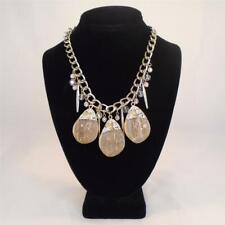 ROMEO & JULIET COUTURE CHUNKY MARBLED ACRYLIC STATEMENT NECKLACE $88 FREE S&H Mi