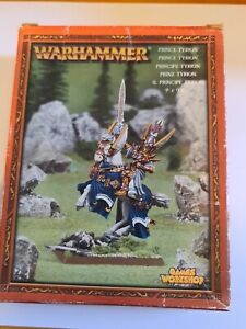 Warhammer High Elf Elves Prince Tyrion NIB All Metal GW AoS OOP