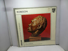 PHILIPS CLASSICAL FAVOURITES PAUL ROBESON  HARRIET WINGREEN GL5766  LP  VINYL