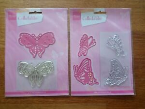 Marianne Design Collectables - Butterflies - Stamp & Die Cutter Sets .