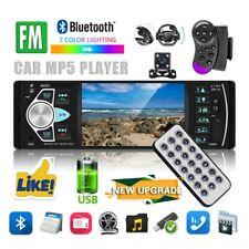 4.1 1DIN Car Stereo Radio Bluetooth FM USB AUX MP5 MP3 Car Player+Camera