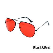 Fashion Men Driving HD Night Vision Glasses Yellow Lens UV400 Aviator Sunglasses