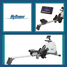 MY-ROWER MR-1 Rowing Machine - NEW 2018 model - PROGRAMS - MAGNETIC RESISTANCE