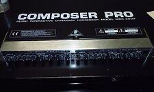 Behringer Composer Pro Audio Interactive Dynamics Processor Model MDX 2200
