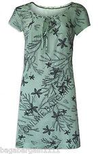 New White Stuff Pastel Mint Green Floral Beach Summer Evening  Tunic Dress Top